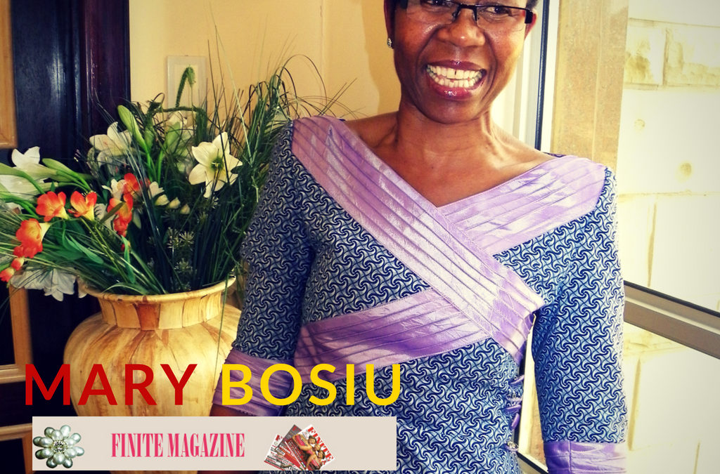Mary Bosiu Graces the Front Cover of Local South African Magazine